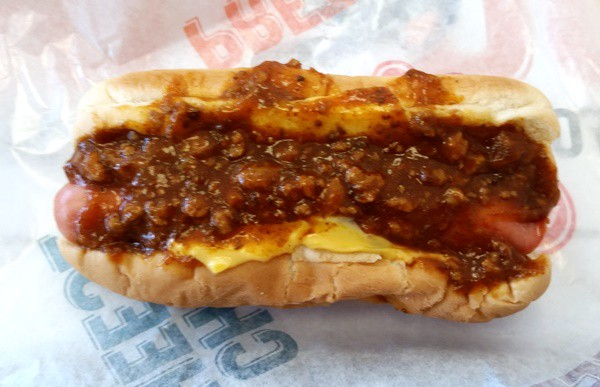 chili cheese dog